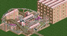 RollerCoaster Tycoon 2 Tracks with Scenery